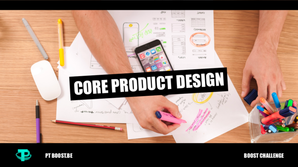 core product design cover