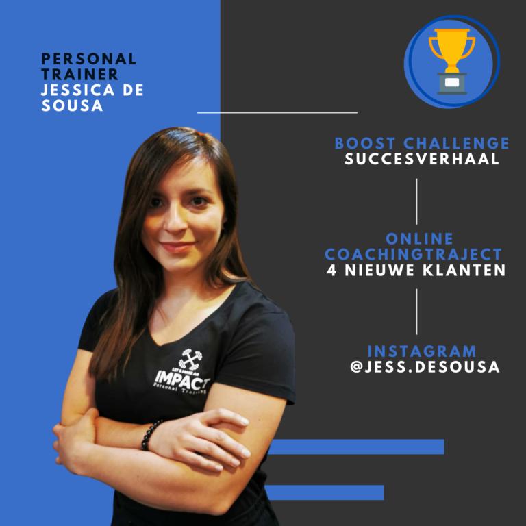PT Boost challenge resultaat Jessica