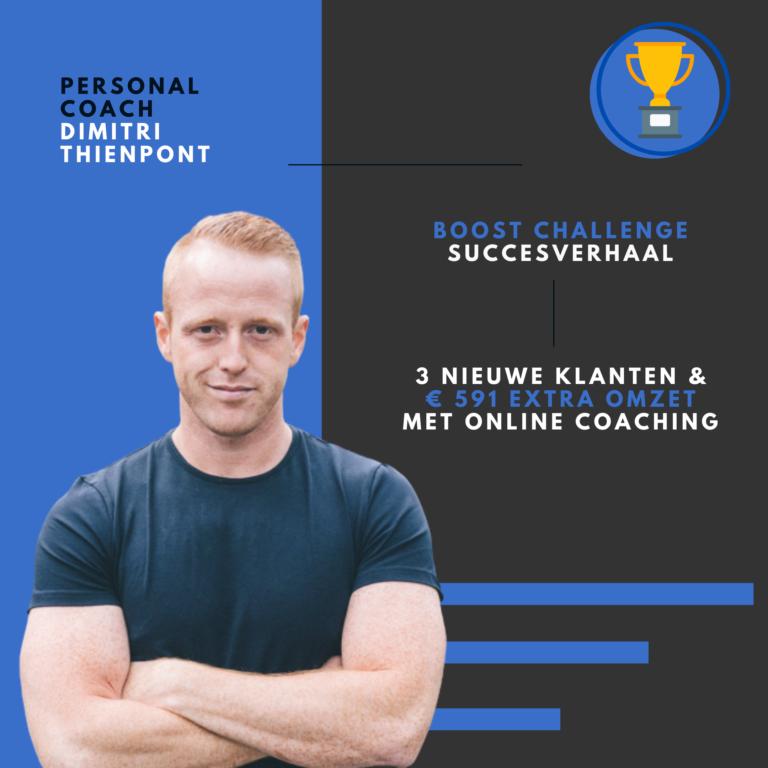 PT Boost challenge resultaat Dimitri Thienpont